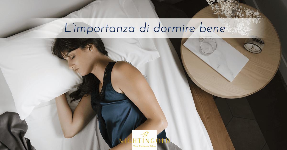 l'importanza della qualità del riposo sulla salute