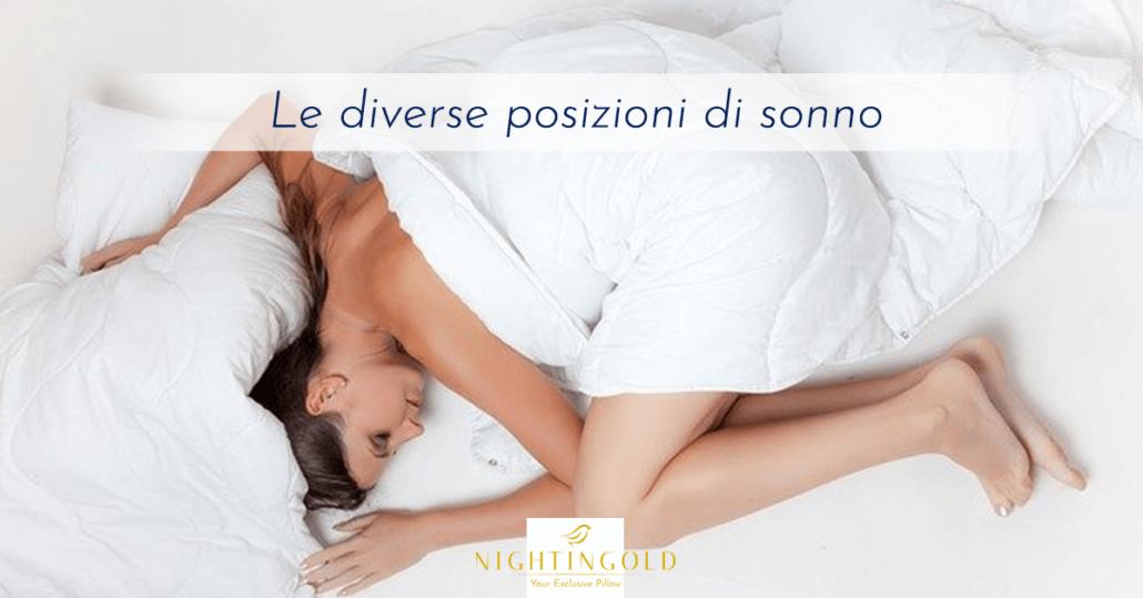 la posizione del tuo sonno impatta la qualità della tua vita