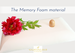 memory foam, the material invented by NASA