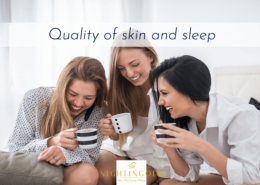 quality of sleep affects the quality of your skin