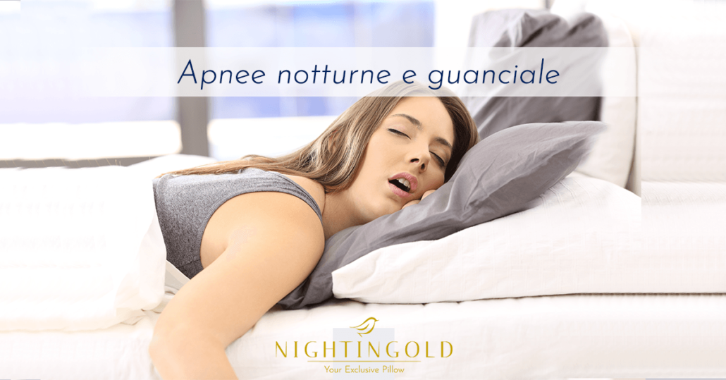 influenza del guanciale sulle apnee notturne